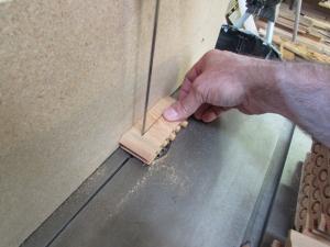 Cutting the plugs free