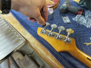 Installing the tuners