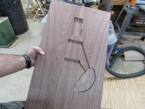 Top, side 2 carved