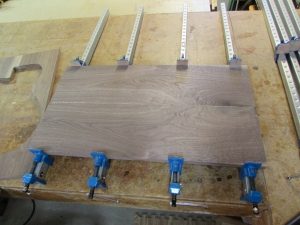 Glue up of panel #2