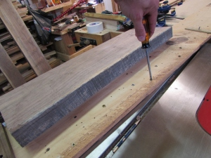 Adjusting my planer sled
