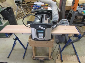Program loaded and carving