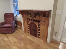 Fireplace bar