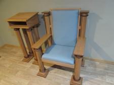 St. Kilian chapel – Pastor chair