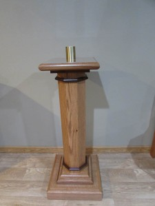 St. Kilian chapel – Paschal Candle Stand