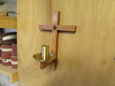 St. Kilian chapel – Wall mounted candle holders